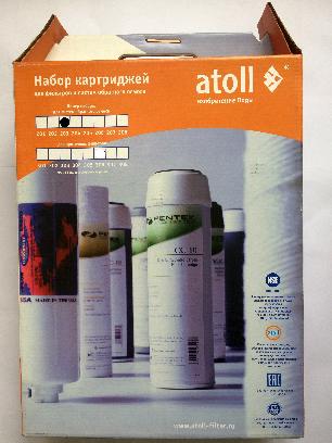 "Набор картриджей Atoll 203 (""Атолл 203"")"